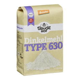Bauckhof Dinkelmehl hell Type 630 demeter (1000g)