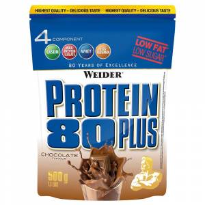 Weider Protein 80 Plus - 500g - Schokolade