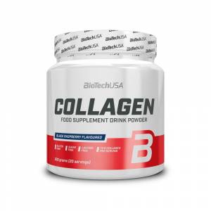 BioTech USA Collagen Schwarze Himbeere (300g)
