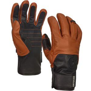 Ortovox Glove SWISSWOOL LEATHER brown XL braun Herren