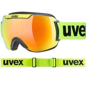 Uvex Downhill 2000 CV black lime matt / orange-green