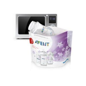Avent - Beutel zur Dampfsterilisation in der Mikrowelle - SCF297/05