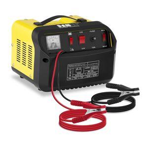 MSW Autobatterie-Ladegerät - Starthilfe - 12/24 V - 20/30 A - schräges Bedienfeld