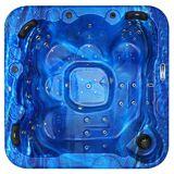 Spatec Jacuzzi Outdoor Whirlpools - SPAtec 700B blau