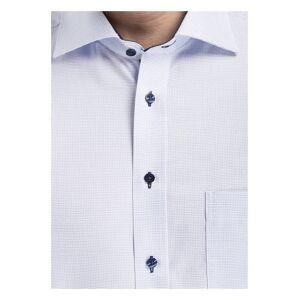 ETERNA Halbarm-Hemd Comfort Fit blau