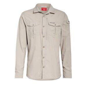 CRAGHOPPERS Hemd Regular Fit beige