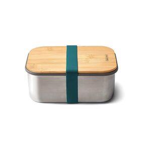 BLACK+BLUM Frischhaltedose - Lunchbox gross 19x13,5cm Ozean/Edelstahl blau   BAM-SB-L005