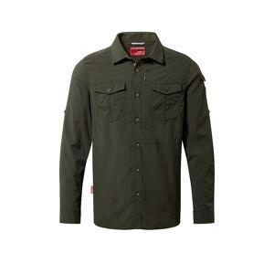 CRAGHOPPERS Herren Outdoorhemd Adventure NosiLife LS olive   Größe: L   CMS605