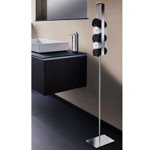 Schönbeck Design, Gästehandtuchhalter stehend, Edelstahl glänzend, 124 cm