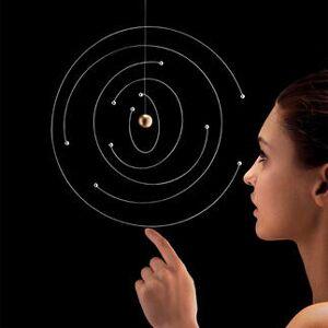 Flensted Mobiles Niels Bohr Atommodell