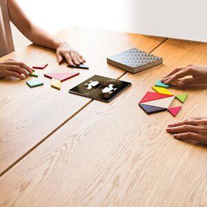 Remember Tangram Challenge Geduldsspiel aus Holz, 1 - 4 Spieler
