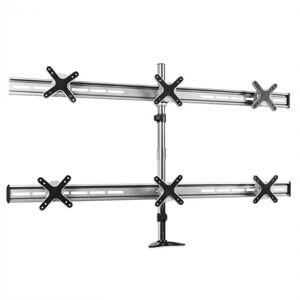 Auna ET01-C06 Tischhalterung für 6 Monitore < 6x8kg