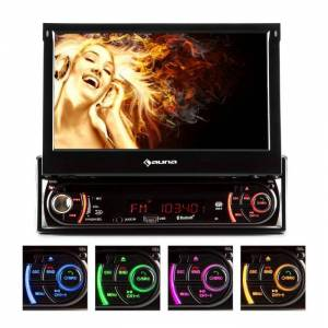 Auna MVD-240 Autoradio DVD CD MP3 USB SD AUX 7'' Touchscreen Bluetooth
