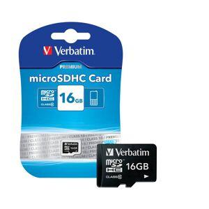 Verbatim 32 GB MicroSD Speicherkarte - Class 10 (SDHC Card)