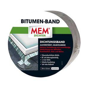 MEM Bauchemie Dach Reparaturband 75 mm x 10 m, Alufarben