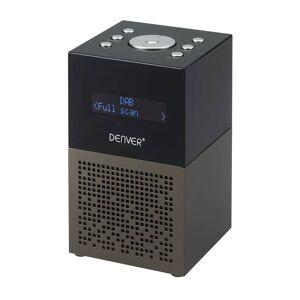Denver DAB+ Radiowecker mit Dual-Alarm Funktion und USB Anschluss