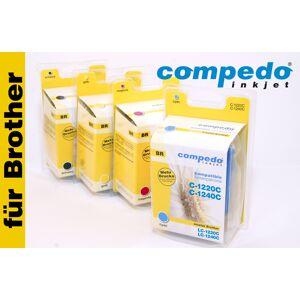 Compedo Druckerpatrone für Brother LC1240M01 magenta