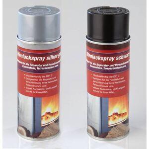 Ofenlack silbergrau, 400 ml Spraydose, Hochtemperaturspray bis 600°C
