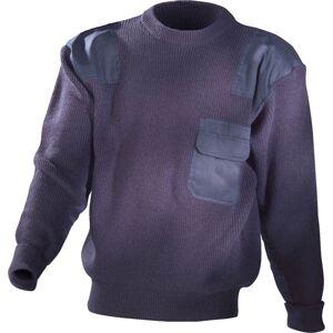 Pullover mit Rundhalsausschnitt, Farbe marine, Gr. M