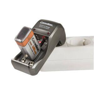 Camelion Reise-Steckerladegerät für 2x AA/AAA oder 1x 9V, klappbarer Stecker