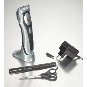 Westfalia Professioneller Haarschneider mit Keramik-Schneiden, mit Ladestation, Kamm und Reinigungsbürste