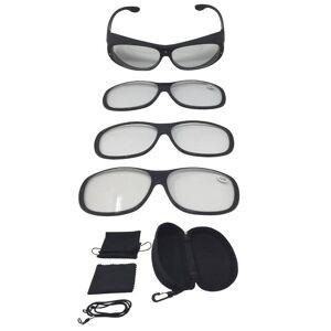 Vergrößerungsbrille,Magneto Edition, Optische Vergrößerung, Leopard