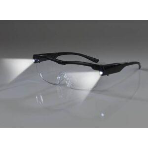 Westfalia LED-Vergrößerungsbrille, Schwarz
