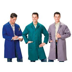 Berufsmantel, grau, Gr.46 / Arbeitskleidung