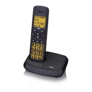 Switel Schnurloses DECT-Telefon mit Anrufbeantworter und 2 zusätzlichen Mobilteilen