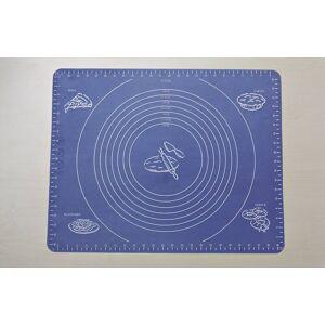 Backofen-Matte, aus Silikon, mit Einteilung, Blau