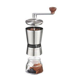Westfalia Präzisions-Kaffeemühle, Edelstahl, Handkurbel, Keramik-Kegelmahlwerk