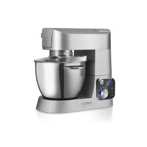 """Caso 3in1 Digital Küchenmaschine """"KM 1200 Chef"""", mit umfangreichem Zubehör, Silberfarben"""