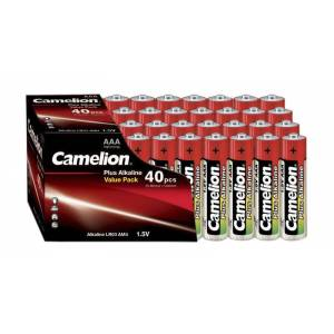 Camelion Alkaline Micro (AAA) Plus Batterien - 40 Stück
