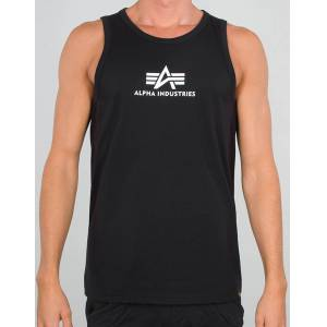 Alpha Industries Basic Tank Top M Schwarz