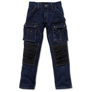Carhartt Denim Multi Pocket Tech Hose Blau 34