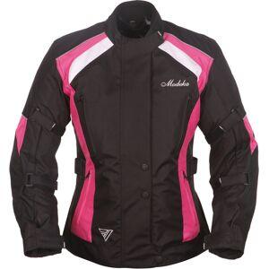 Modeka Janika Damen Motorradjacke Schwarz Pink 38