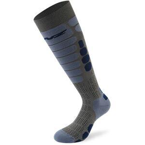 Lenz Skiing 5.0 Socken 42 43 44 Grau Blau