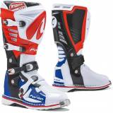 Forma Predator 2.0 Motocross Stiefel 41 Weiss Rot Blau