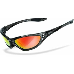 HSE SportEyes Speed Master 2 Sonnenbrille Rot Einheitsgröße