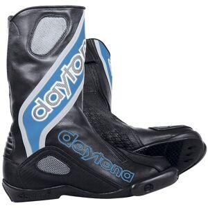 Daytona Evo Sports Racing Motorrradstiefel Schwarz Blau 41
