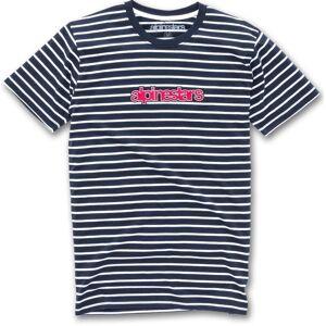Alpinestars Noted T-Shirt Weiss Blau 2XL