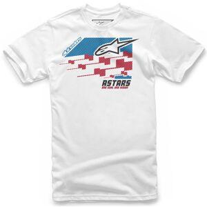 Alpinestars Trio T-Shirt L Weiss