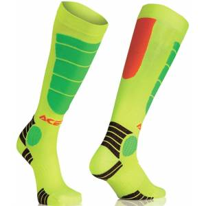 Acerbis MX Impact Junior Socken Gelb S M