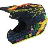Troy Lee Designs SE4 Stranded MIPS Motocross Helm Mehrfarbig XS