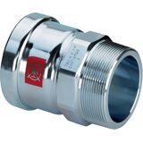 Viega Prestabo Übergangsstück 629977 76,1 mm x R 2 1/2, Stahl unlegiert, SC-Contur, Mehrkant