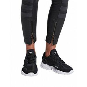 Adidas Falcon Damen-Sneakers, schwarz-weiss