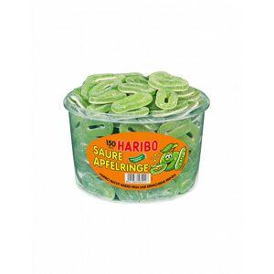 Haribo Saure Apfelringe Dose, 1,2 kg