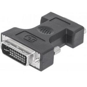 Manhattan 328883 - DVI (24+5) auf D-SUB15 Adapter Stecker/Buchse
