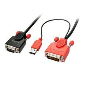 Lindy 41432 - Adapterkabel DVI-D an VGA, 3m