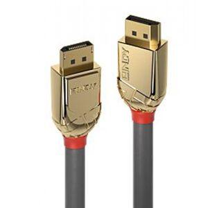 Lindy 36295 - DisplayPort 1.2 Kabel Gold Line - 7.5m